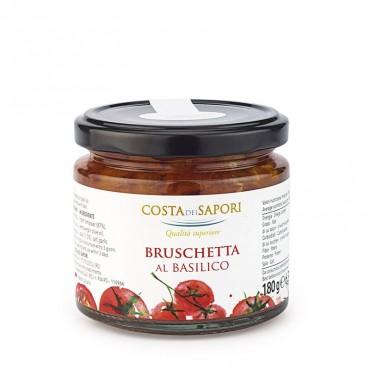 Bruschetta al basilico